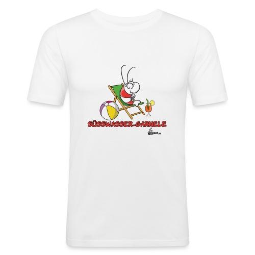 suesswasser_garnele - Männer Slim Fit T-Shirt
