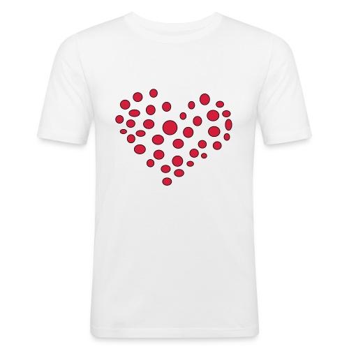 Polka - Herre Slim Fit T-Shirt
