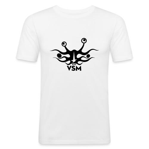 Kerk van het Vliegend Spaghettimonster - slim fit T-shirt