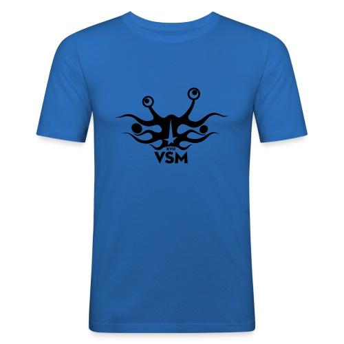 Kerk van het Vliegend Spaghettimonster - Mannen slim fit T-shirt