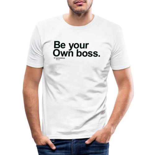 Boss in black - Men's Slim Fit T-Shirt