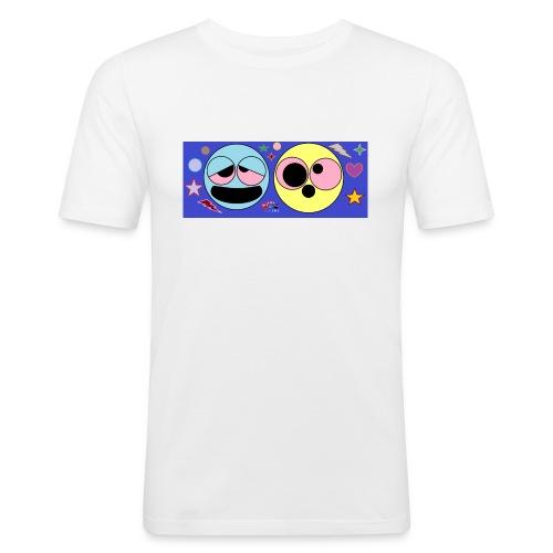 allucinazioni_da_acido_con_logo-png - Maglietta aderente da uomo