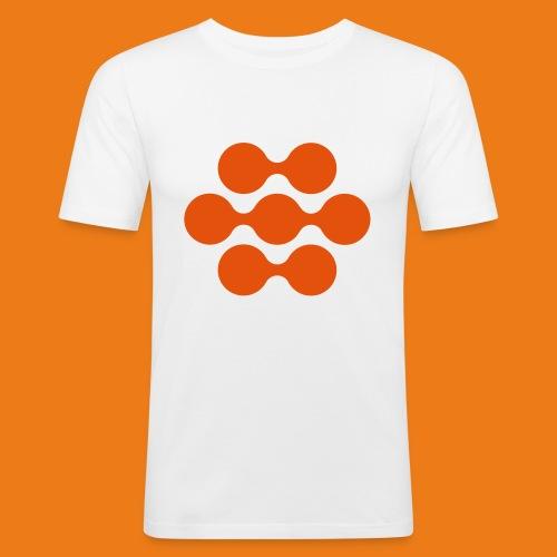 seed madagascar logo squa - Men's Slim Fit T-Shirt