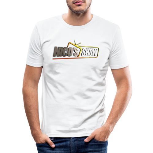 Nicos Show - Männer Slim Fit T-Shirt