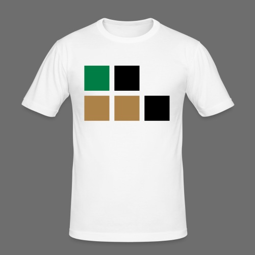 invalid_tooManyColors-svg - Männer Slim Fit T-Shirt