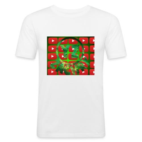 YZ-Muismatjee - Mannen slim fit T-shirt