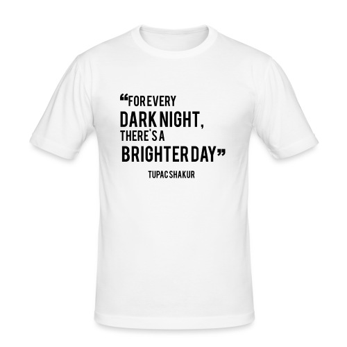 Mental Health Quote 2 - Men's Slim Fit T-Shirt