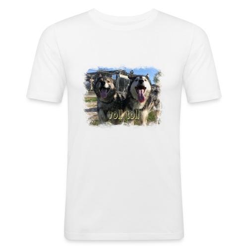 Voll toll - Männer Slim Fit T-Shirt