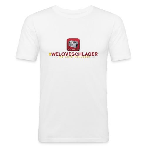WeLoveSchlager de - Männer Slim Fit T-Shirt
