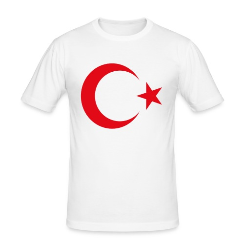 lphone 4/4S Turkey Case - Mannen slim fit T-shirt