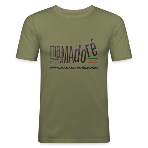 T-Shirt Premium - Donna - Logo Standard + Sito - Maglietta aderente da uomo