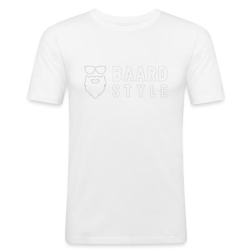 BaardStyle_1-white hoodie - slim fit T-shirt
