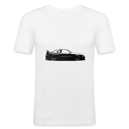 Minimalist Skyline - T-shirt près du corps Homme