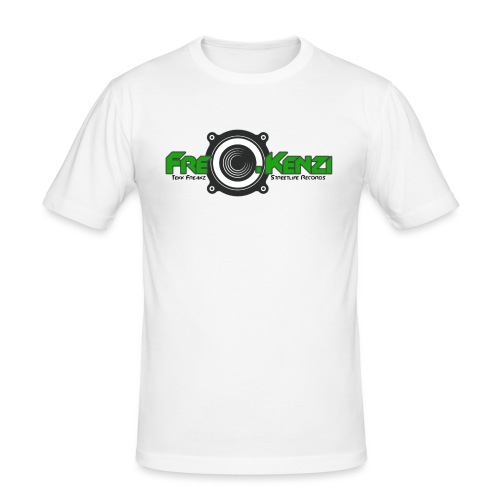 FreQ.Kenzi Logo - Männer Slim Fit T-Shirt