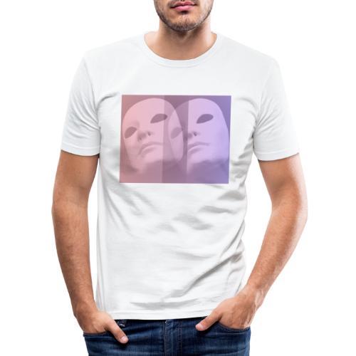 Maschere 2 - Maglietta aderente da uomo