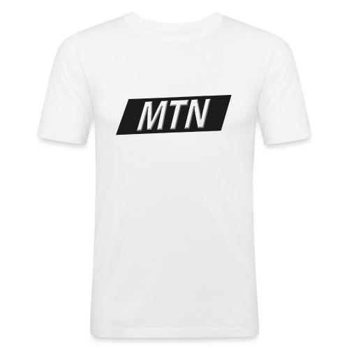 MTN BoxLogo T-shirt herre - Men's Slim Fit T-Shirt
