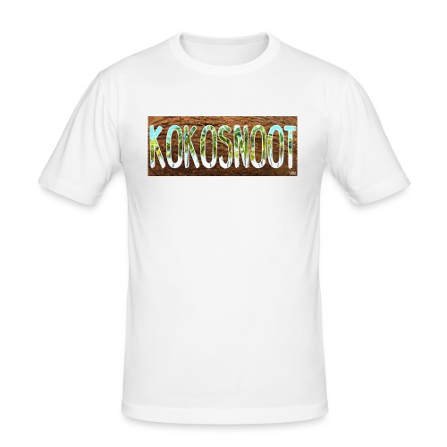 Kokosnoot - Mannen slim fit T-shirt