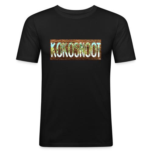 Kokosnoot - Mannen slim fit T-shirt