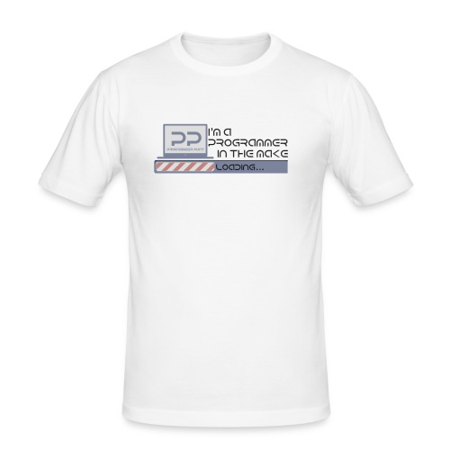 I m a programmer in the make - Mannen slim fit T-shirt