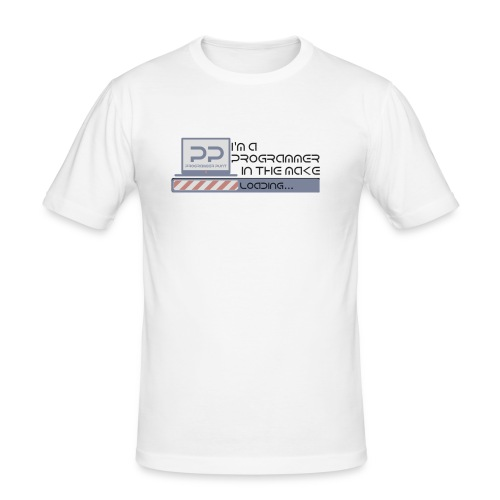 i m a programmer in the make - slim fit T-shirt
