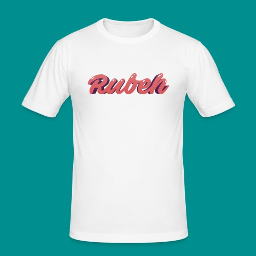 Rubeh Snapback - Mannen slim fit T-shirt