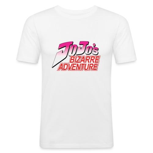 Jojo's Bizarre Adventure Logo T Shirt - Camiseta ajustada hombre