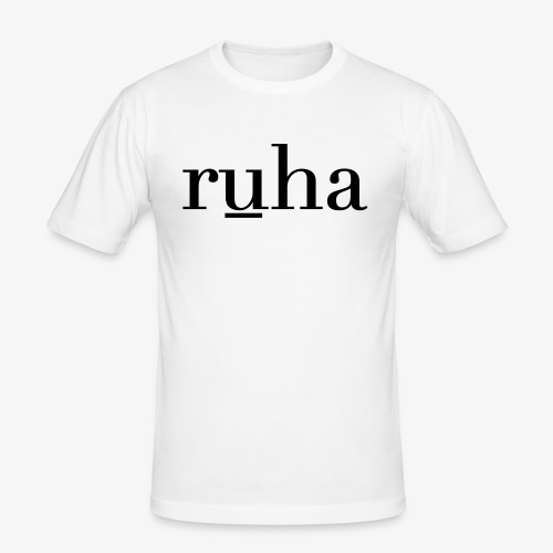 Ruha - Mannen slim fit T-shirt