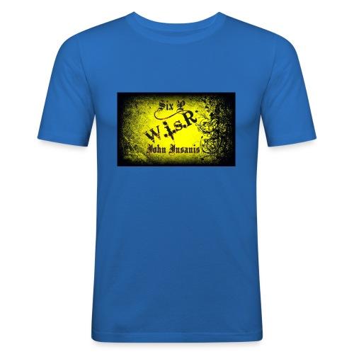 Six P & John Insanis Treenikassi - Miesten tyköistuva t-paita