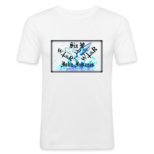 Six P&John Insains Deamon WisR - Miesten tyköistuva t-paita