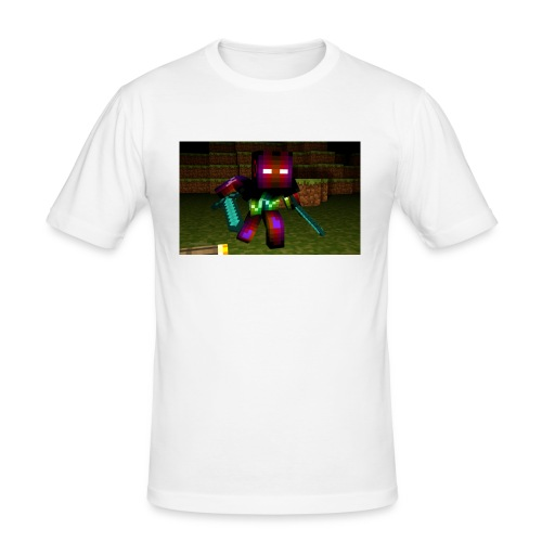 AwesomeSauce Minecraft 2 Swords - Men's Slim Fit T-Shirt