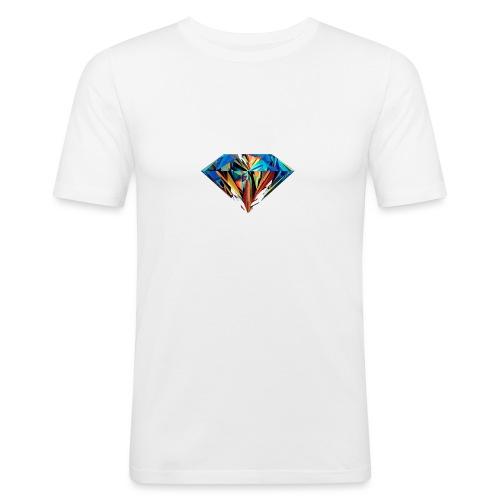 DiamondCraft Shine Like A Diamond. - Mannen slim fit T-shirt
