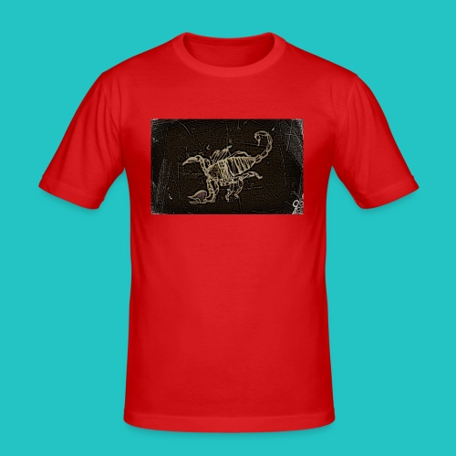 skorpion_grafika-jpg - Obcisła koszulka męska