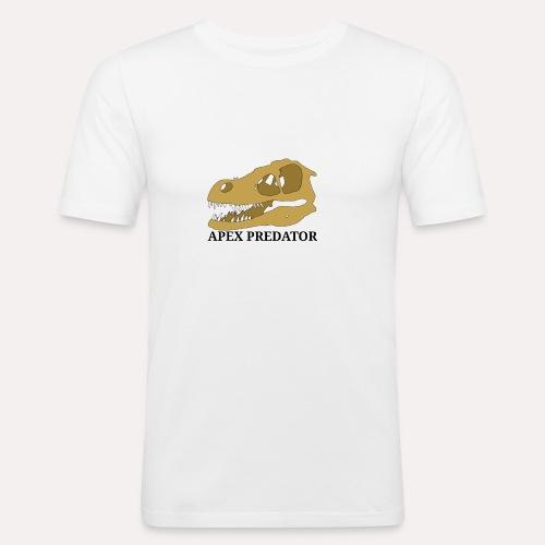 Apex Predator velociraptor design - Men's Slim Fit T-Shirt