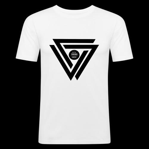 07logo complet black - T-shirt près du corps Homme