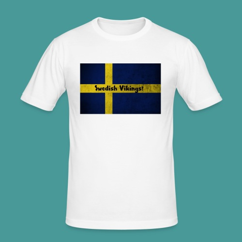 Swedish Vikings - Slim Fit T-shirt herr