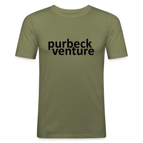 purbeckventure - Men's Slim Fit T-Shirt