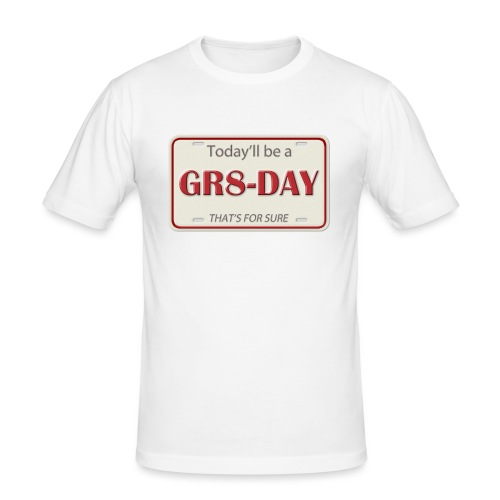 gr8-day - Camiseta ajustada hombre