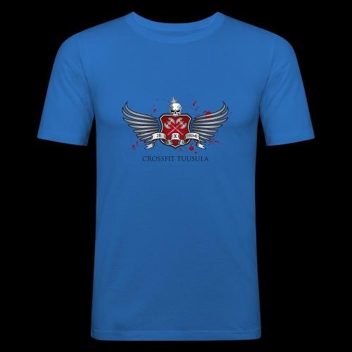 CrossFit Tuusula - Miesten tyköistuva t-paita