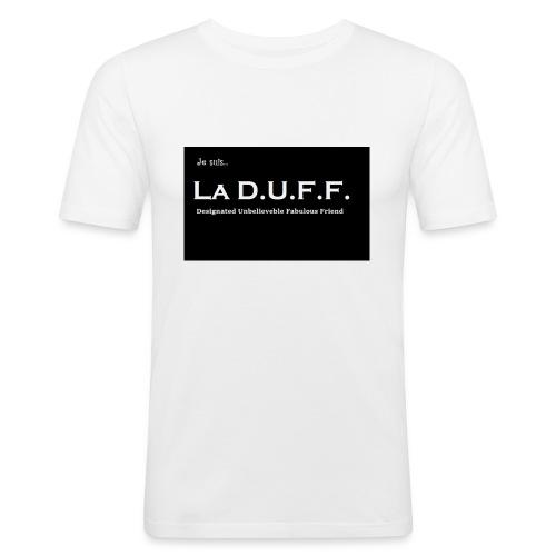 Je Suis... La D.U.F.F. - Mannen slim fit T-shirt