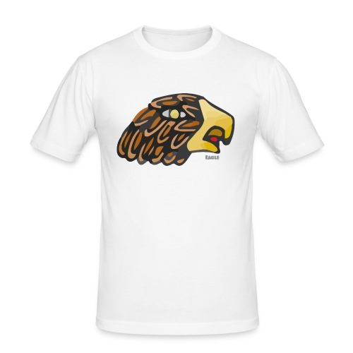 Aztec Icon Eagle - Men's Slim Fit T-Shirt