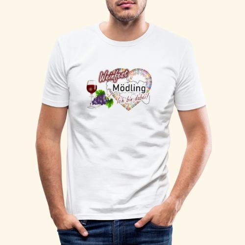 Weinfest in Mödling - Ich bin dabei! - Männer Slim Fit T-Shirt