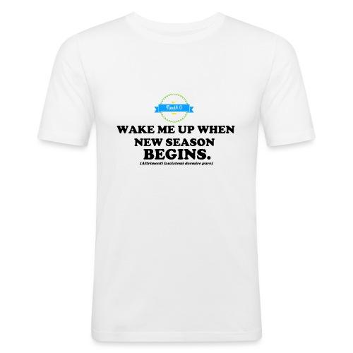 wake_me_up_when - Maglietta aderente da uomo