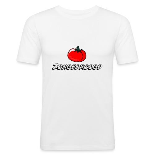 ZONGEDROOGD - Mannen slim fit T-shirt