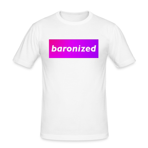 baronized - Männer Slim Fit T-Shirt