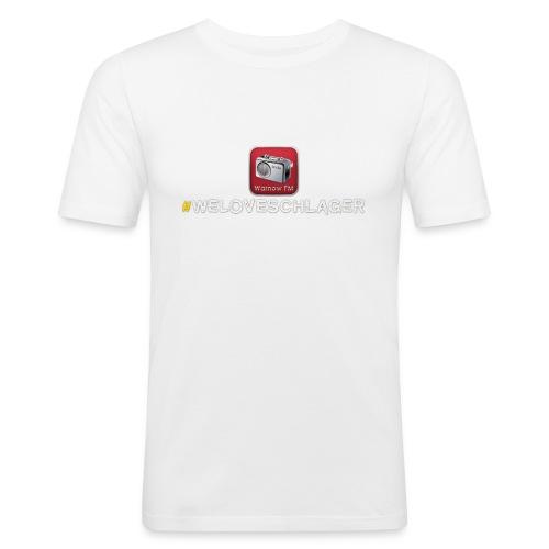 WeLoveSchlager 1 - Männer Slim Fit T-Shirt