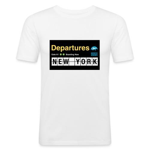 Departures Defnobarre 1 png - Maglietta aderente da uomo
