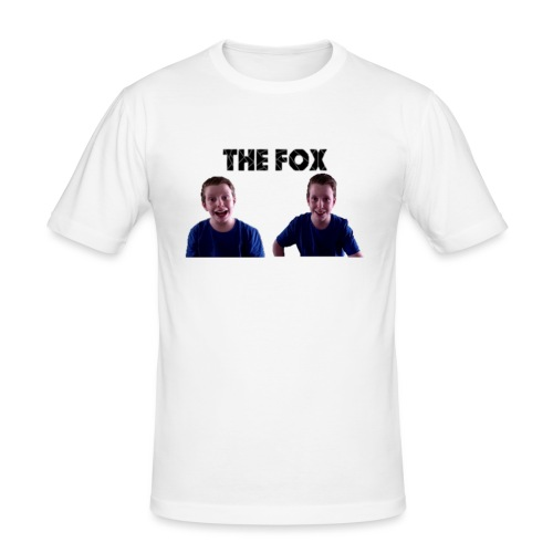 THE FOX - Deluxe Damesshirt - Mannen slim fit T-shirt