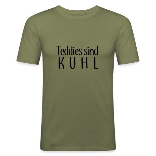 Teddies sind KUHL - Men's Slim Fit T-Shirt