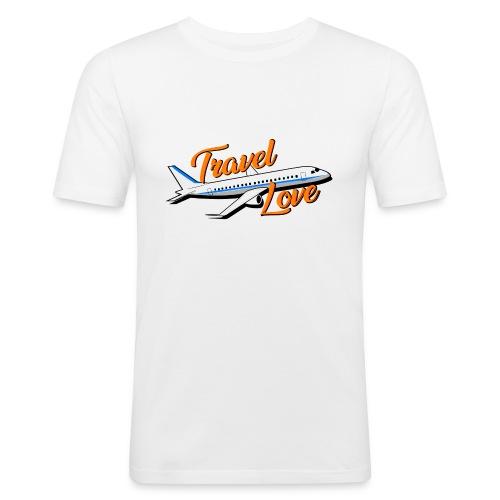 Travel love Air - Camiseta ajustada hombre