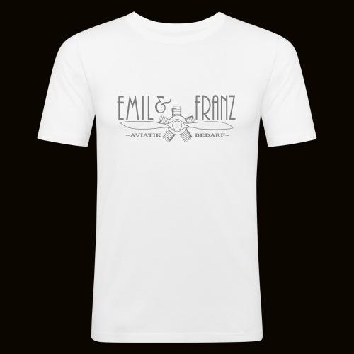 EmilUndFranz - Männer Slim Fit T-Shirt